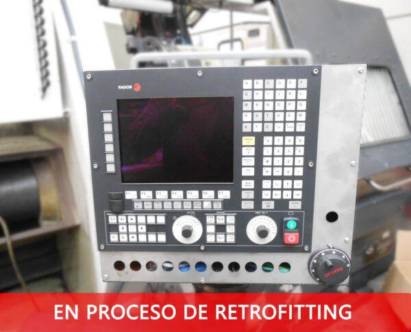 Retrofit cnc fagor 8055 FT